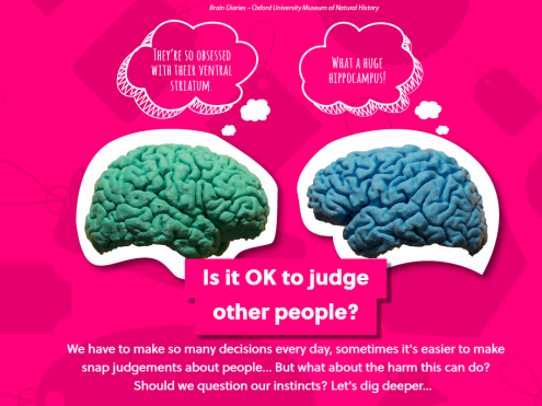 Is it OK to judge other people? Big Question on Oxplore