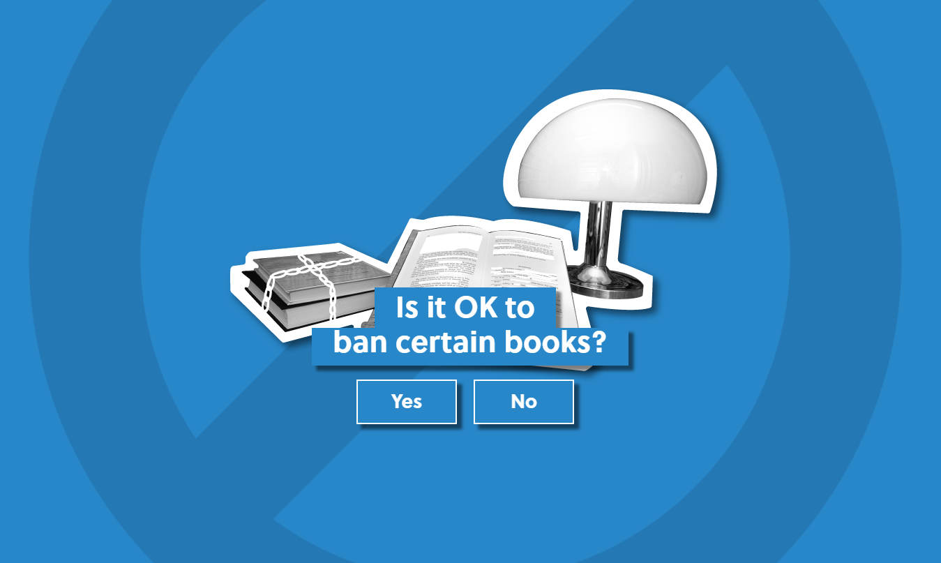 Ban books graphic